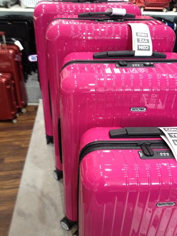 Einmaliges Pink von RIMOWA , nur in den nächsten beiden Monaten ...