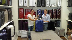 Andreas Moravec und Lukas Konopitzky präsentieren den Testsieger