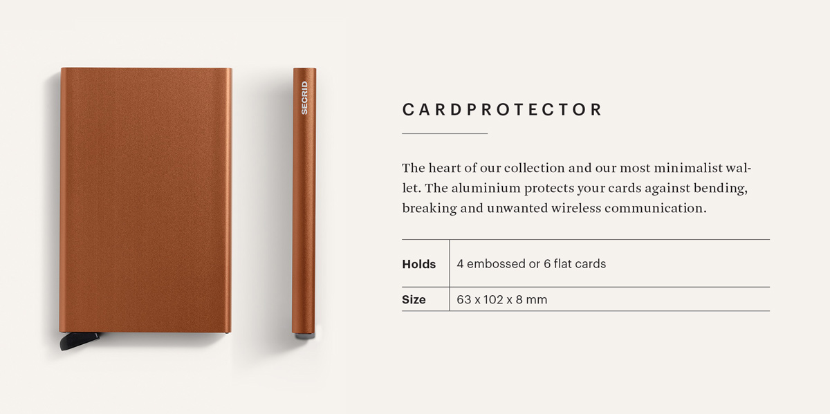 Secrid Cardprotector Info