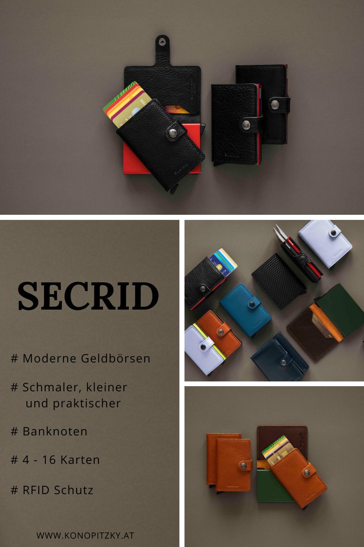 Secrid Geldbörsen RFID Wien Konopitzky