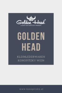 Golden Head Geldbörsen Wien Konopitzky